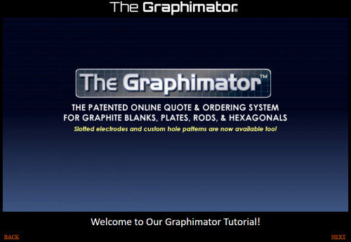 The Graphimator - Order Graphite Online - Graphite Blanks